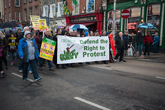Right2Water Protest [23.01.16] (shaymurphy) Tags: ireland people dublin irish signs water march crowd fine protest right demonstration gael labour tax taxes placards charges oconnellstreet right2water