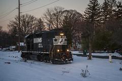 Rare Mileage (Nick Gagliardi) Tags: railroad yard train industrial diesel ns norfolk trains southern browns secondary cr amboy conrail hightstown emd gp382