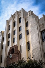 Art-deco courthouse in Bisbee, AZ.