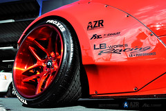 Bloody Red Liberty walk Ferrari 458 Italia with Fi Exhaust (Fi Exhaust) Tags: red liberty italia body walk wide performance ferrari kit bloody lb exhaust intelligent frequency 458 fiexhaust