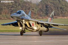 Mikoyan Gurevich Mig 29 Fulcrum (Nigel Blake, 12 MILLION...Yay! Many thanks!) Tags: force air poland polish 29 mig gurevich mikoyan 2015  fulcrum miskmazowiecki 29 nigelblake nigelblakephotography   29