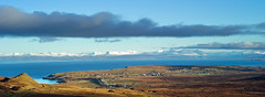 View towards Staffin and the Mainland (Elmer Duck) Tags: panorama skye scotland trotternish staffin leicame