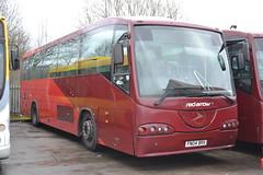 Trent Barton 64 FN04BRX (Will Swain) Tags: uk travel england bus english mill buses yard britain derbyshire garage transport january 64 vehicles trent vehicle depot barton 24th langley nottinghamshire 2016 bartons wellglade fn04brx