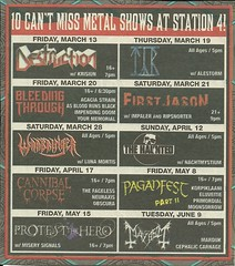 Station 4, St. Paul, MN (Shows: March - June 2009) (NYCDreamin) Tags: destruction mayhem cannibalcorpse station4 stpaulmn april2009 cephaliccarnage warbringer june2009 march2009 may2009