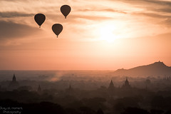 DSC08825 (Stay at moment Photography) Tags: travel sun sunlight clouds sunrise landscape tele myanmar bagan jourey a7rii a7r2 a7rm2