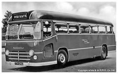 Midland Red 774 GHA postcard (geoff7918) Tags: coach postcard 4774 cs5 bmmo 774gha