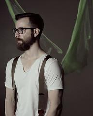 (AaronNett) Tags: lighting portrait selfportrait abstract conceptual speedlight selfie abstractportrait strobist
