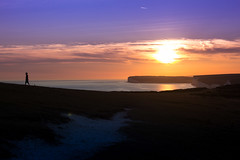 Just wandering (judethedude73) Tags: sunset downs sussex eastbourne