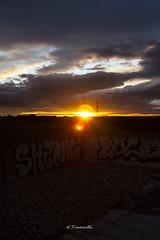 15_Graffiti_Sunset (A_Veintemillas) Tags: sunset sun sol atardecer day dia graffity 365 puesta día días