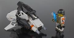 Light Assault Drone (With Operator) (General JJ) Tags: orange wow lego cul whoa wowee minifigure funfunfun meatbag legoz laygoez eclipsegrafx zacross droneuary