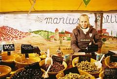 Best olives in the world (.Kaisu.) Tags: france grenoble 35mm iso200 kodak m42 spotmatic analogue spii supertakumar 3535 asahipentaxspotmatic supertakumar3535 kodakcolorplus vintageanalogue asahipentaxspotmaticspii