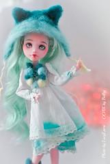 Mint_Laura-34 (lucylacri) Tags: monster high doll sweet ooak mint vanilla mh mattel repaint reroot draculaura