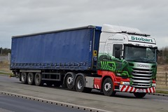 Stobart H2494 PO65 UUF Grace Constance at Goole 22/12/15 (CraigPatrick24) Tags: road truck cab transport tesco lorry delivery vehicle trailer scania logistics goole stobart eddiestobart curtainsider h2494 stobartgroup scaniar450 tescocurtainsider po65uuf graceconstance