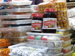 strawberry jam (DOLCEVITALUX) Tags: fruits treats strawberries sweets baguiocity strawberryjam baguiomarket canonpowershotsx50hs