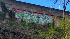 SIGH (BLACK VOMIT) Tags: wall graffiti ol virginia south dirty richmond dos va sigh rva