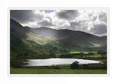 Light and shade, Little Langdale (Ali's view) Tags: light lake landscape shade cumbria sunrays littlelangdale