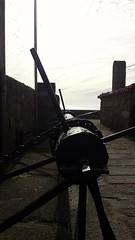 Old Drawbridge of forte de So Francisco Xavier in Porto (rocknrolltheke) Tags: old castle portugal ancient fort silhouettes porto drawbridge lightandshadow oporto forte burg lichtundschatten mittelalterlich silhouetten zugbrcke 30365