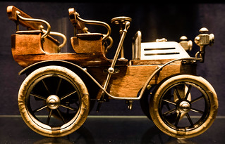 Wooden miniature