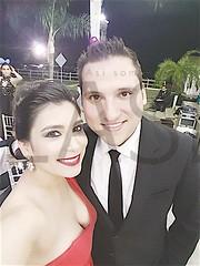 Carolina Cantú y Francisco Cantú