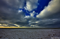 Clouds (mswan777) Tags: blue winter sky sunlight lake snow seascape storm cold ice beach nature weather clouds nikon outdoor michigan great shoreline lakes scenic sigma 1020mm effect d5100