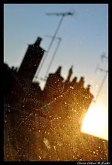 Some benefits of the meeting between light and various particles... (Chris Coeur) Tags: roof light luz lumière prayer meditation chimeneas spirituality dust toit tejado chimneys cheminée polvo espiritualidad spiritualité méditation oración meditación prière poussière kenyarkana