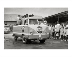Vehicle Collection (6645) - Volkswagen (Steve Given) Tags: africa volkswagen automobile band ghana 1950s pepsicola workingvehicle
