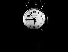 Low Key Clock 2 (bboneyardd) Tags: blackandwhite ontario canada black clock big interesting key ben low minimal ring clear windsor nikond3100