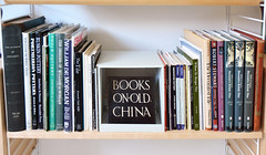 Books on Old China (robmcrorie) Tags: china old chris tile ceramic design jones decorative books ornament tiles string british carter owen shelving poole grammar heaton blanchett aldam