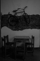 (martinnarrua) Tags: bw white black byn blanco argentina bar night dark noche nikon shadows darkness negro bn entre ros amateur sombras oscuridad oscuro monocromtico liebig nikond3100