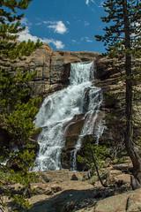 IMG_1339 (dangerismycat) Tags: california waterfall yosemite tuolumnemeadows tuolumneriver glenaulintrail tuolumnefalls