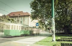 Ul. Fredry (Matacz) Tags: glass train opera long welding poznań posen tramwaj wielkopolska fredry