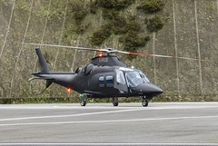 G-HRDB Agusta A109 @ Castle Air Charters Ltd, Liskeard, Cornwall. (Cornish Aviation) Tags: castle cornwall air ltd agusta charters liskeard a109 ggibi ghrdb