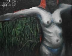 La Villerita con pauelo rojo (ca.chezmay) Tags: oleo casm pauelorojo oilpintura