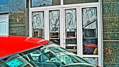 Car... Glass... Reflexes (Barbara Bonanno BNNRRB) Tags: glass car reflexes