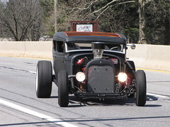 Blackjax Bar 4/10/2016  Rat Rod Arrives (Speeder1) Tags: show street cruise two hot classic ford chevrolet car bar rat pennsylvania muscle pa lane tavern rod 55 goons aces willys gasket blacktop eights birdsboro blackjax