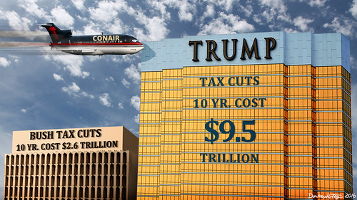 Trump Tax Cuts Will Cause Deficits 3 Times Bigger Than Bush, From FlickrPhotos