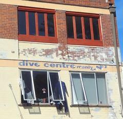 Hung out to dry ** Explored ** (boeckli) Tags: windows building paint fenster schild farbe gebäude brickwork mauerwerk buildingstructure windowwednesdays