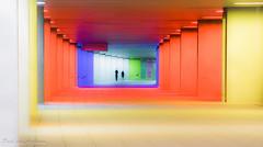 Rotterdam@Night (Paul van Agthoven) Tags: canon licht nacht nederland explore lan brug steden kleur sluitertijd totterdam