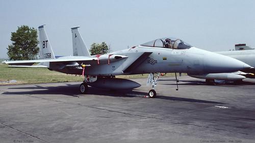 F15 C BT 79-0058 Colmar Meyenheim mai 1989