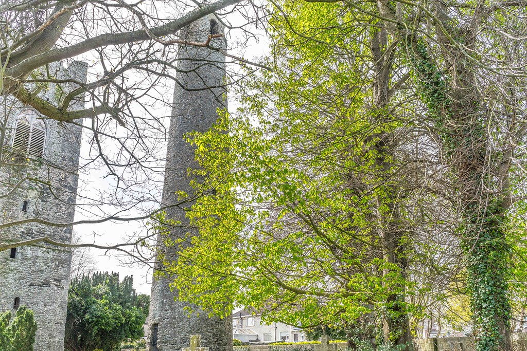 St. Columba's Church And Grounds In Swords County Dublin [Church Road]-115250