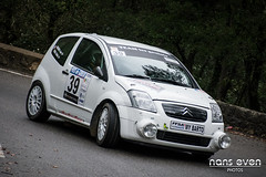 Citroën C2 R2 - Nicolas PASCAL / Laura DEGEORGES (nans_even) Tags: auto france cars sport mobile race fleurs alpes de automobile grasse rally voiture racing course asa 06 extérieur pays rallye ponts maritimes voitures alpin rallying 2016 parfums véhicule auban es1 stauban bleine 3ponts 57ème