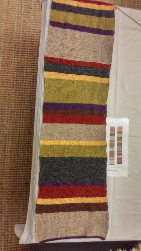 "Doctor Who Scarf • <a style=""font-size:0.8em;"" href=""http://www.flickr.com/photos/92578240@N08/25986950154/"" target=""_blank"">View on Flickr</a>"