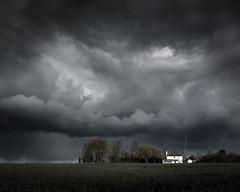 Dorothy's House (Scott Baldock) Tags: uk house storm clouds dark landscape skies moody farm essex