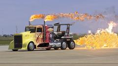2016 Airpower over Hampton Roads Langley Air Show Virginia - Shockwave Jet Truck (watts_photos) Tags: show truck virginia power air over jet wave va shock roads hampton langley airpower peterbuilt shockwave 2016 jettruck