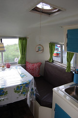 1975 Boler knock off made by Unik (Simply Delicious Knits) Tags: camping trailer boler