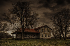 Unfinished Castle (Klaus Ficker) Tags: old usa house castle home canon kentucky ruin oldhouse oldtimer milf oldbuilding rual abanded unfinish abandedhouse eos5dmarkii kentuckyphotography klausficker