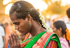 Prayers | Koovagam Annual Transgender Festival,India (vjisin) Tags: travel portrait people woman india man heritage face festival temple 50mm nikon asia diverse ngc culture documentary crossdressing transgender identity transexual queer gender tamilnadu genderqueer shemale hijra androgyne heterosexuality documentaryphotography transsexualism villupuram niftyfifty twospirit intersexuality koovagam bigender koothandavar ulundurpet thirunangai aravaan chennaiweekendclickers trigender nikonofficial cwc523