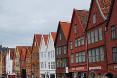 Bergen Bryggen Buildings (unclebobjim) Tags: wood norway bergen bryggen league hanseatic