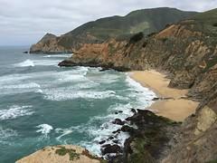 Between Devil's Slide and Montara (Katy German) Tags: ocean highwayone highway1 pacificocean montara montaramountain