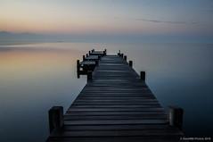 Al final (SantiMB.Photos) Tags: autumn reflection sunrise geotagged pier lagoon amanecer reflejo pasarela embarcadero otoo laguna runway francia fra languedocroussillon pantaln fitou leucate 2ig 2tumblr sal18250 2blogger geo:lat=4287315716 geo:lon=299854875